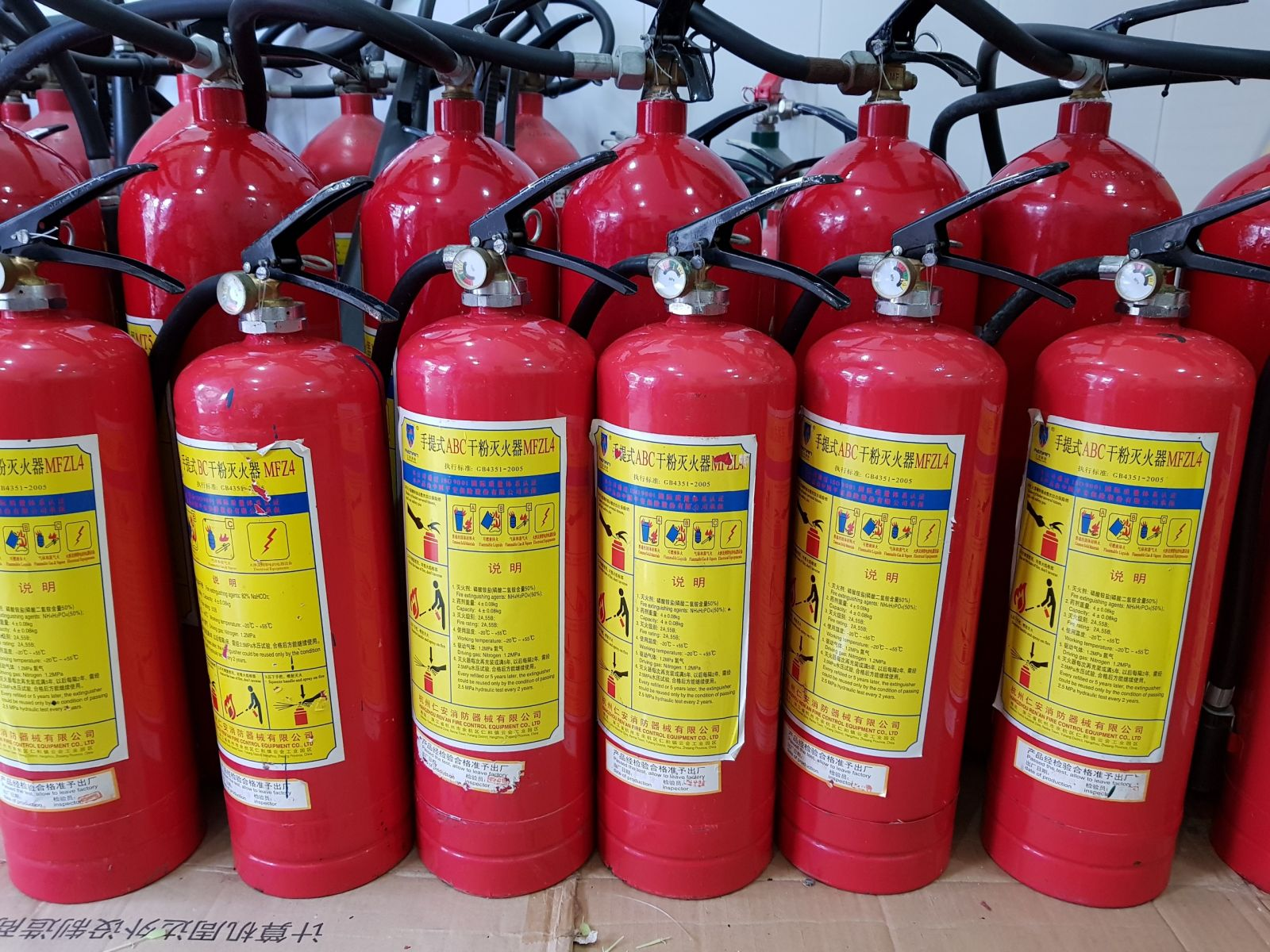 Bảo dưỡng bình chữa cháy định kỳ là điều cần thiết