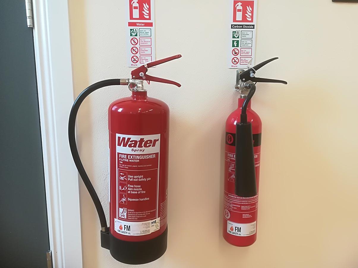 Cách bảo quản bình chữa cháy