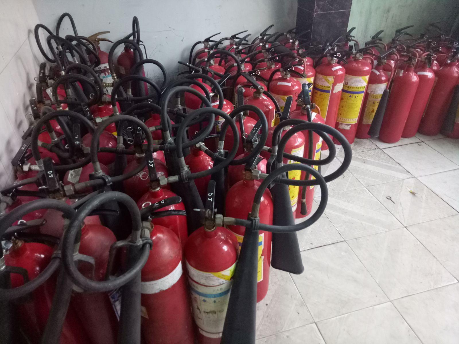 Cần tuân thủ các yêu cầu khi bảo dưỡng bình chữa cháy