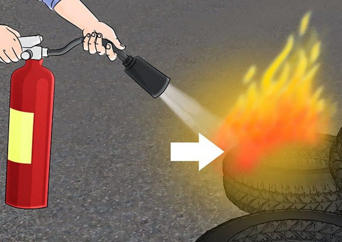 Lưu ý sử dụng bình chữa cháy dạng bột an toàn