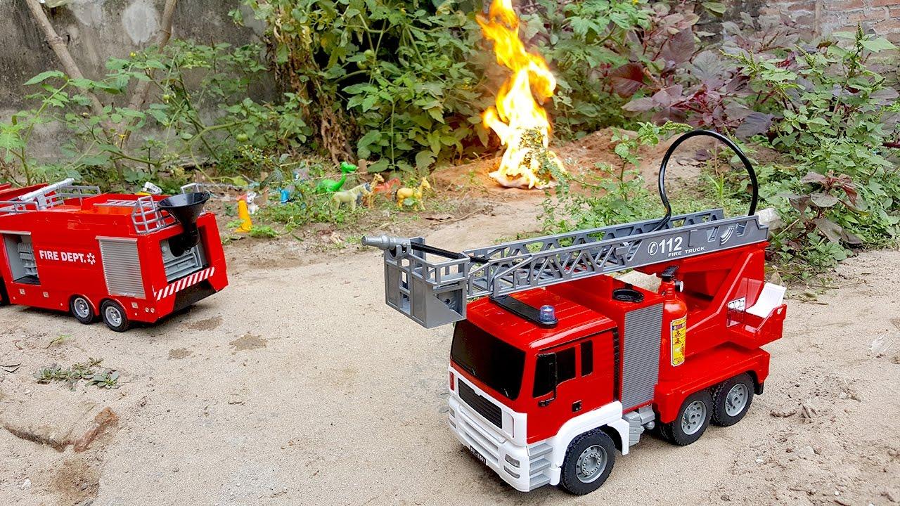 Màu đỏ tượng trưng cho ngành cứu hỏa