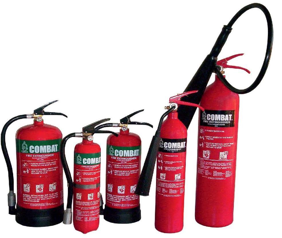 Quy định sử dụng bình chữa cháy