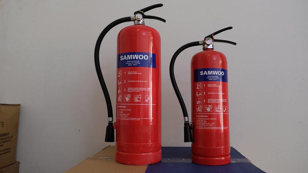 Số lượng bình chữa cháy bao nhiêu là hợp lý?