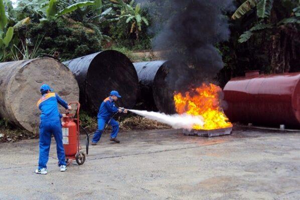 Tác dụng của bột chữa cháy