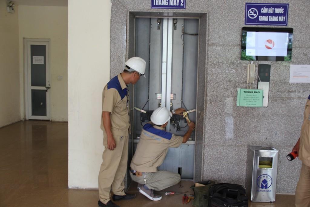 Tất cả nguồn điện cho thang máy cần đảm bảo