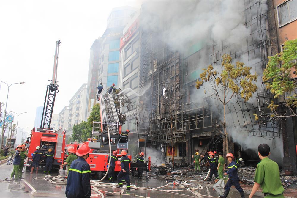 Chất chữa cháy xanh không gây ảnh hưởng đến môi trường